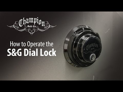 S&G Mechanical Lock Operation