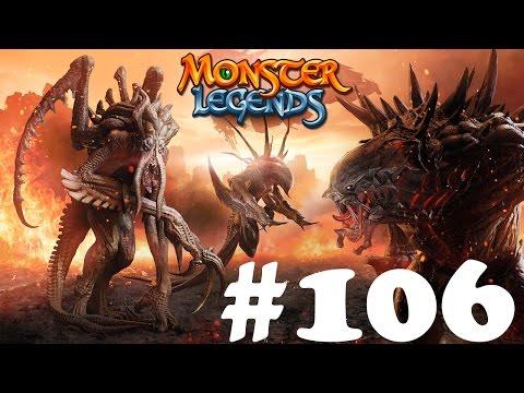 Monster Legends 106 - Ископаемый остров Мегаостеум и Трилопс