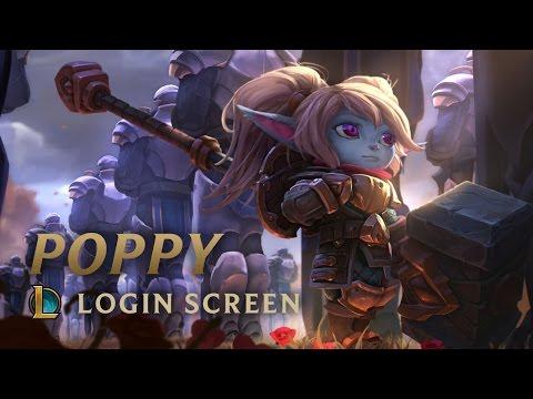 Poppy, Keeper of the Hammer | Login Screen - League of Legends