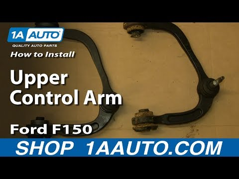How To Install Replace Upper Control Arm 2004-09 Ford F150 Expedition