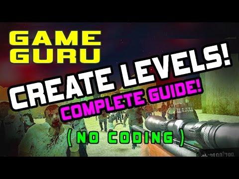 easy 3d game engine tutorial: game guru