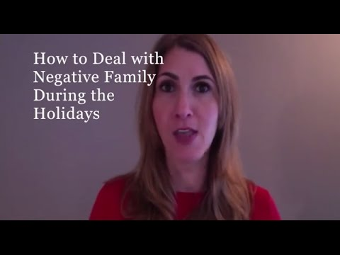 How to Deal with Negative Family- Carly Cooper Gives You The sCOOP