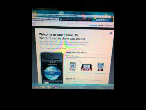 Video pertama yang diambil dengan iphone 3Gs
