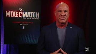 Kurt Angle reveals Raw