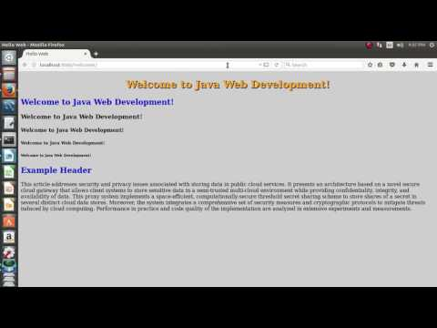 simple html tags in jsp