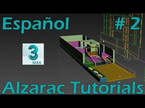 3ds max tutorial - Basico - Modelado de un Edificio - Parte 2