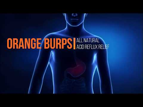 Orange Burps - All Natural Acid Reflux and Heartburn Dietary Supplement