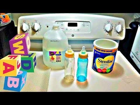 Prepare Baby Bottles For The Day! | Post Pregnancy Tip