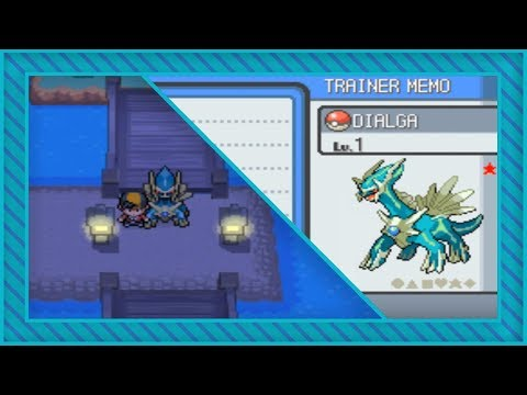 [LIVE] Shiny Sinjoh Ruins Dialga after 4226 SRs in HeartGold + Arceus distribution cartridge