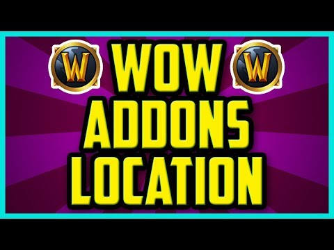 How To Find Your WoW Addons Folder 2018 (EASY) - Where Is My WoW Addons Folder Windows 10