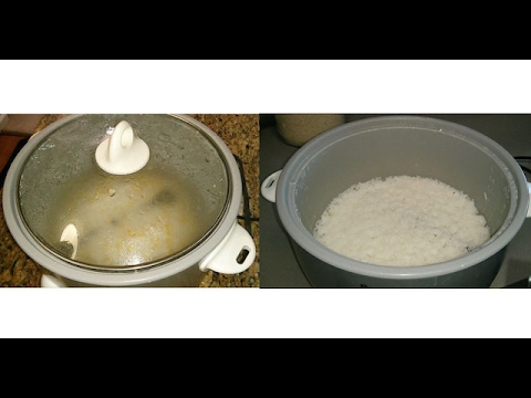How to cook rice in a Rice Cooker | Cooking Rice In An Electric Rice Cooker