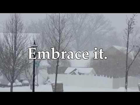 Winter ~ Don't Hate it, Embrace it!