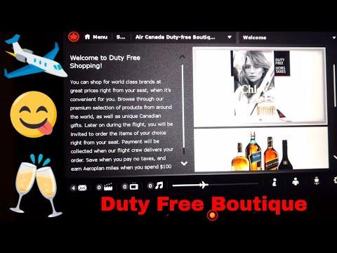 Air Canada # Duty Free # Liquor & Tobacco