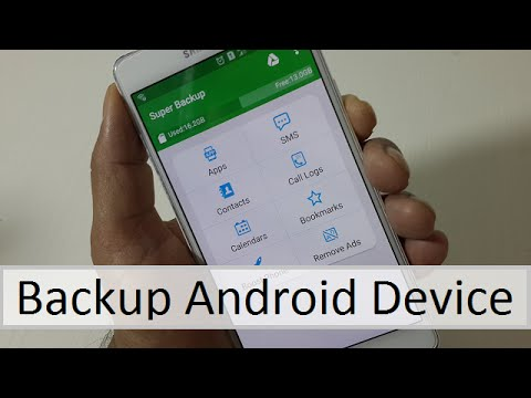 How to Back Up Your Android Device (SD card | Google Drive | Gmail)  No Pc Needed!!
