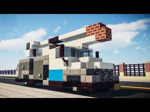 Minecraft Con Edison Utility Bucket Truck Tutorial