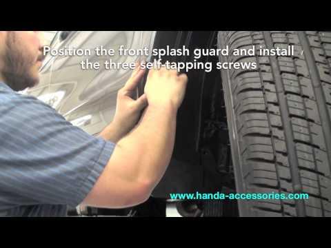 CRV Splash Guards Installation (Honda Answers #8)