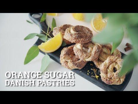 Orange Sugar Danish Pastries [BA Recipes]