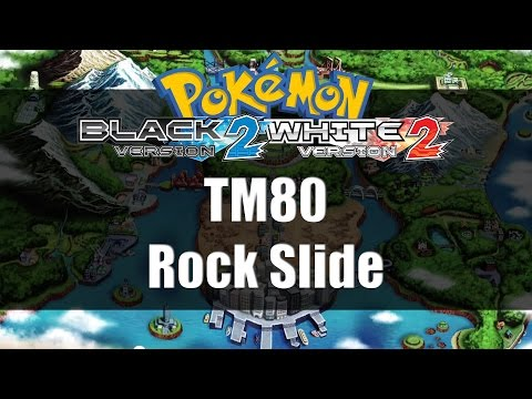 Pokemon Black 2 & White 2 | Where to get TM80 Rock Slide
