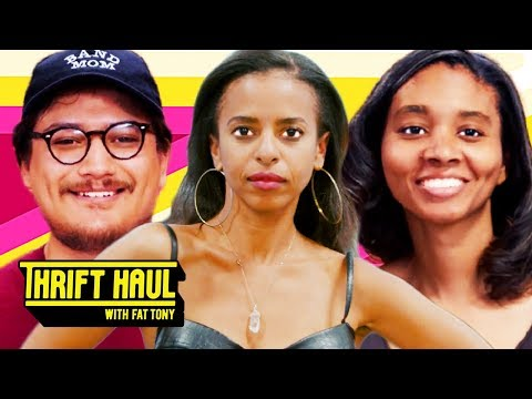 Recreating Your 16-Year-Old Style (ft. FrankJavCee & Novena Carmel) | Thrift Haul w/Fat Tony