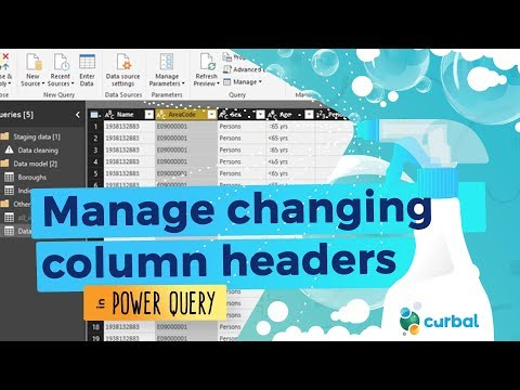 Managing changing column headers in Power Query #10: (M)agic (M)ondays