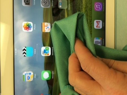 Clean My iPad Screen - iPad Cleaning Cloth