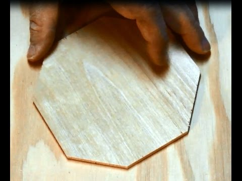 How to mark an octagon