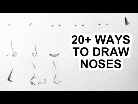 How to Draw Manga Noses