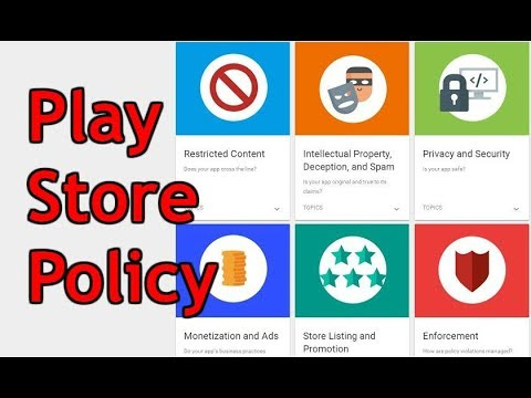 Upload App In Play Store New Play Store Policy 2018