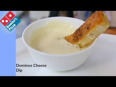 DOMINOS CHEESE DIP | Dominos Garlic Bread Part 2 - Recipe By bharatzkitchen