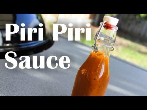 How To Make Piri Piri / Peri Peri Sauce - Recipe Video