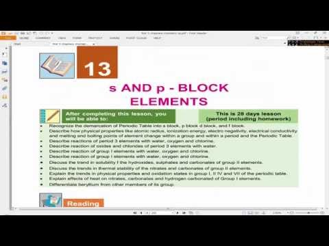 Lecture 1: Period 3 Properties | 2nd Year FBISE Chemistry (Urdu)