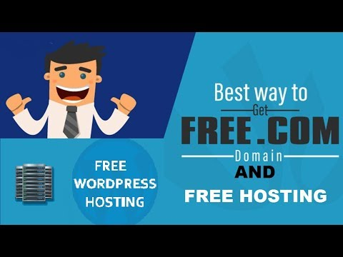 HOW TO GET FREE .COM DOMAIN AND FREE HOSTING,  free domain name registration for blog, blogger