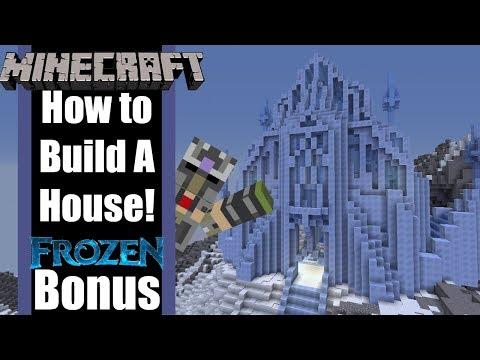 Minecraft Elsa's Ice Castle recreation!