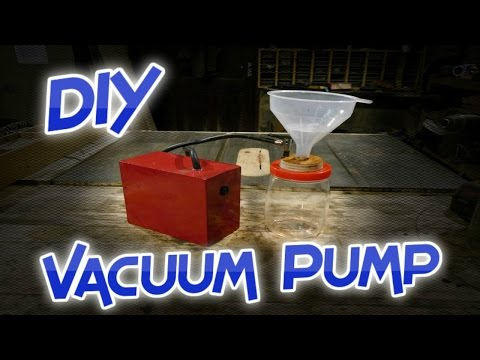 How to make a Multipurpose Vacuum Pump & a Buchner Funnel