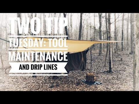Two Tip Tuesday: Tool Maintenance and Drip Lines