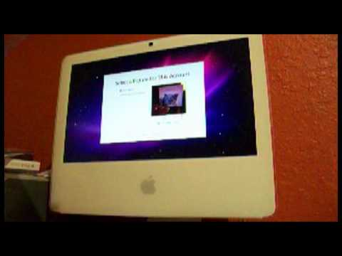 Mac OS X 10.6 Snow Leopard 1st Time Boot on 17
