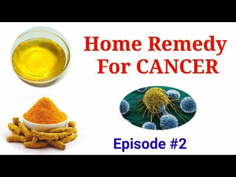 Home Remedy For Cancer