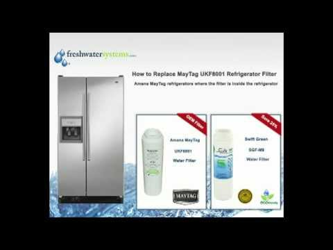 How to Change a Maytag UKF8001 Refrigerator Water Filter