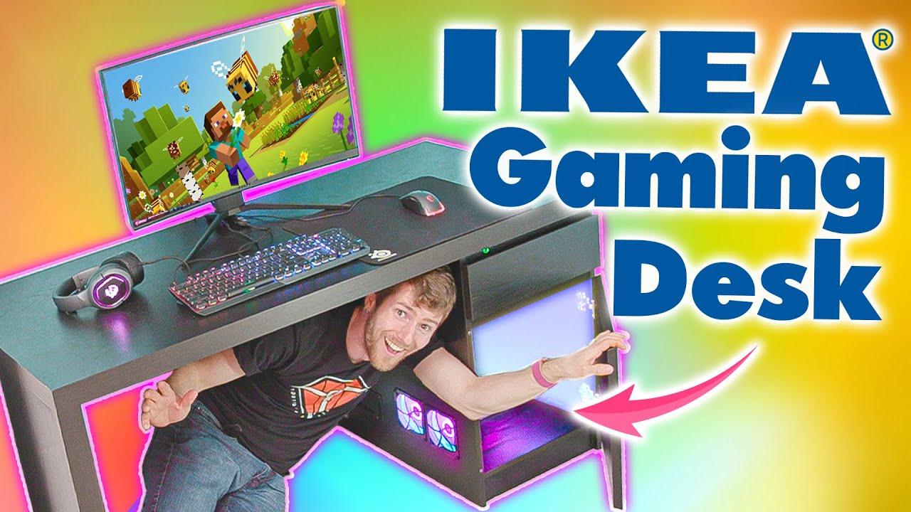 Ultimate IKEA Gaming Desk
