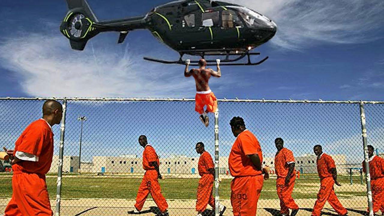 Real Prison Escapes Caught On Camera