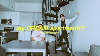 MY NEW DREAM LA APARTMENT!!! (tour)