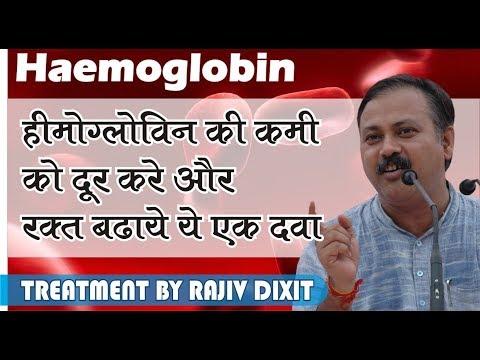 Rajiv Dixit- TREATMENT OF HAEMOGLOBIN DEFICIENCY