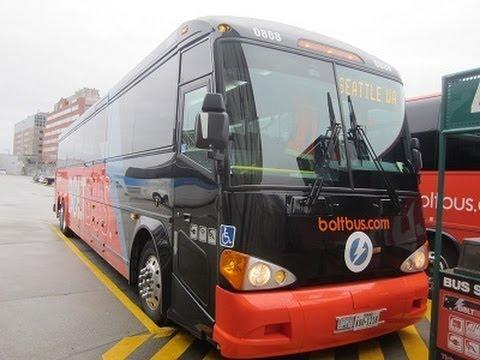 BoltBus 2013 MCI D4505 - 0888 (Vancouver, BC - Seattle, WA)