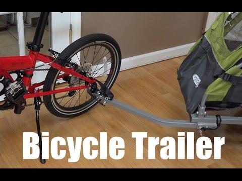 Install Bicycle Trailer on Folding Bike