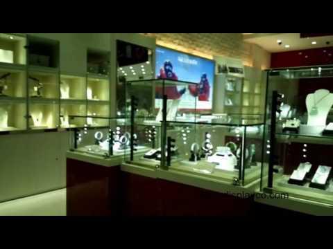 custom jewelry store fixtures,glass cabinet ,jewelry kiosk,glass jewelry display showcase