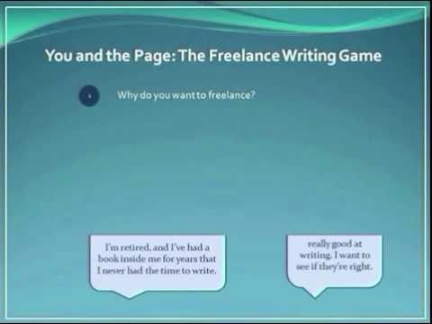 PREVIEW - You and the Page: The Freelance Writing Game