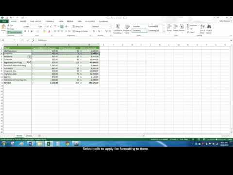 How to Use the Format Painter in Excel and Word