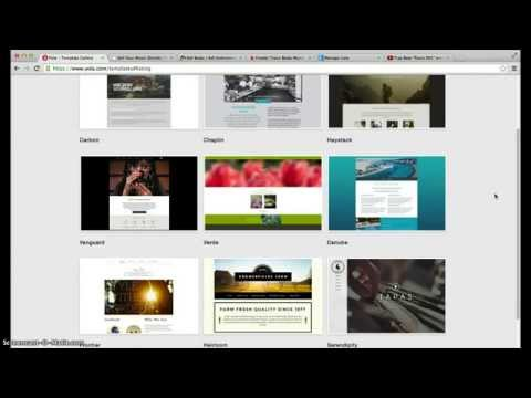 How to build an Artist / Producer website for Free (part 1)