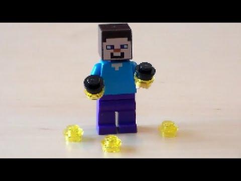 Lego Minecraft Bottle O' Enchanting Tutorial
