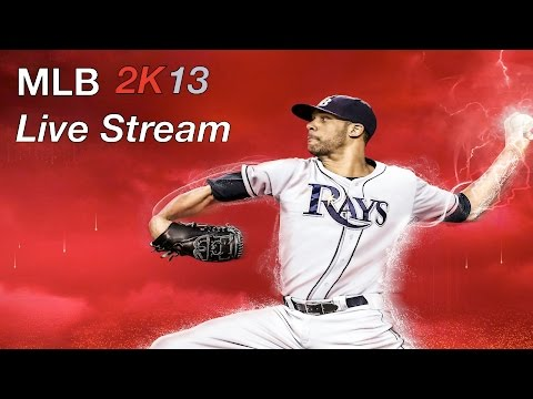 MLB 2k13 Live Stream- 2018 Rosters! (updated)